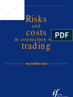 Cargo Insurance - Attachement 2 - Risks and Costs in Connection With Trading