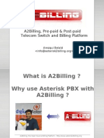 A2Billing Pre-Paid _ Post-Paid Telecom Switch and Billing Platform