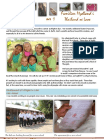 Newsletter from Thailand and Laos
