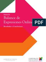 2012 Estudio Balance de Expresiones Online