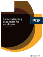 Career Planning Essentials for Employers a Guide