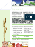 Native Wheat Starch Info Sheet