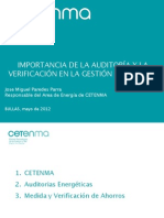 Import an CIA Auditoria y Verificacion