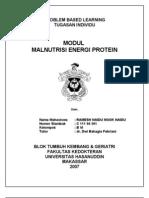 Modul Malnutrisi Energi Protein
