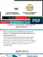 Afghanistan Country Paper Presentation