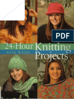 Knitting) Rita Weiss - 24 Hour Knitting Projects