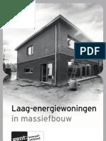 Details Laag-Energiewoningen in Massiefbouw