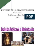 2.- Historia d La Admin is Trac Ion Ok