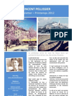 Newsletter Printemps 2012
