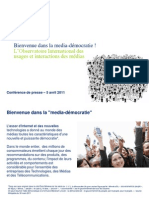 Deloitte - Usages Et Interaction Media - 2011