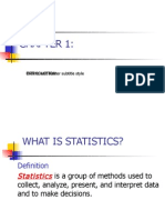 1 - Ch01- Introduction to Statistics
