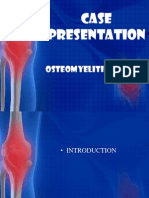 Case Presentation Osteomylitis