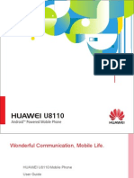HUAWEI U8110 Mobile Phone User Normal)