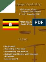Budget Credibility Uganda Final