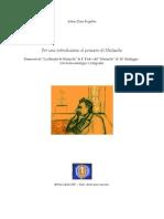 A. Benigni, Introduzione Generale Al Pensiero Di Nietzsche