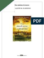 Barrero, Joaquim M. () Una Manana de Marzo