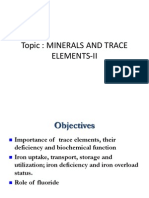 Minerals II for BDS
