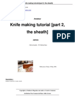 Knife Making Tutorial Part 2 The