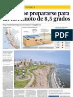 Lima Debe Prepararse Para Un Terremoto de 8,5 Grados