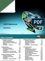 ANSYS Workbench 12官方中文培训教程--Dynamic动力学模块教程及实例