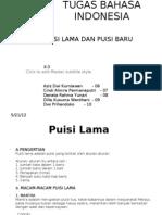 Puisi Lama Puisi Baru (2007)
