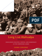 Long Live Atahualpa by Emma Cervone