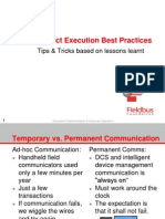 4 Project Execution Best Practices
