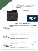 Precios impresoras