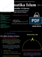 Matematika Islam 1