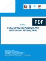Climate Public Expenditure