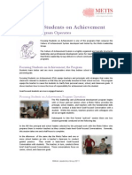 Focusing Students on Achievement