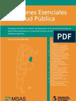 Funciones escenciales salud publica