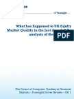 11 1220 Dr1 What Has Happened to Uk Equity Market Quality in Last Decade