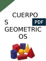 Descubriendo los cuerpos geometricos