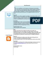 Applicatieschema PDF