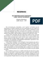 RESENHA -  Des-territorialização e identidade_ a rede Gaúcha no nordeste