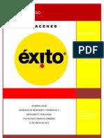 analisis ALMACENES EXITO