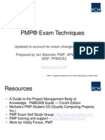 PMP Exam Techniques