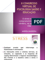 Andrea Bandeira Palestra Stress Auditório Psicológica Tv