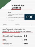 Avaliação Geral de Prédios Urbanos
