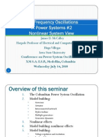 Low Frequency Oscillations in Power Systems 2 Nonlinear System View Callay Modelos