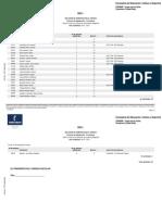 Relación provisional de admitidos