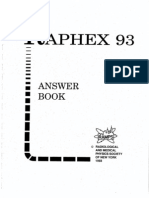 Raphex 93 Answer Book