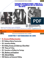Codigo de Soldadura Estructural AWS D1.1.