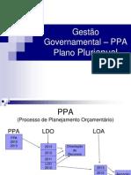 Gestão Governamental - PPA