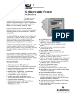 Danload 6000 - Worksheets and Specifications