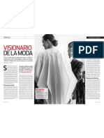 Pierre Cardin, visionario de la moda