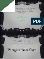 Aplikasi Teori Psikologi Masalah Pembelajaran Sejarah