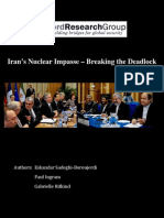 Iran's Nuclear Impasse - Org Report 21.5.2012