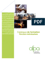 Catalogue Formations Duree Site AFPA